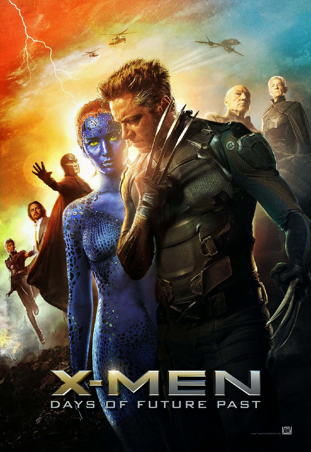 X-Men Days of Future Past (2014) WEB-DL 720p Full Movie + Subtitle Indonesia