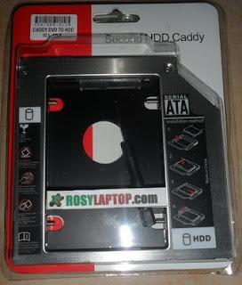 Satu Laptop Pakai 2 HardDisk (Menambah HDD Tanpa Mengganti)