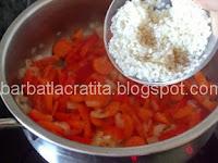 Spanac cu orez mancare de post preparare reteta