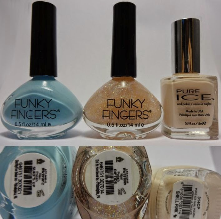 Funky Fingers Color Changing Nail Polish - Spill the Beauty