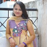 Usha Photos in Salwar Kameez at Gundello Guchi Guchi Champake Movie Press Meet 6
