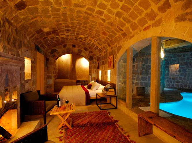 Loveisspeed cave hotel argos in cappadocia turkey for Designer hotels turkei