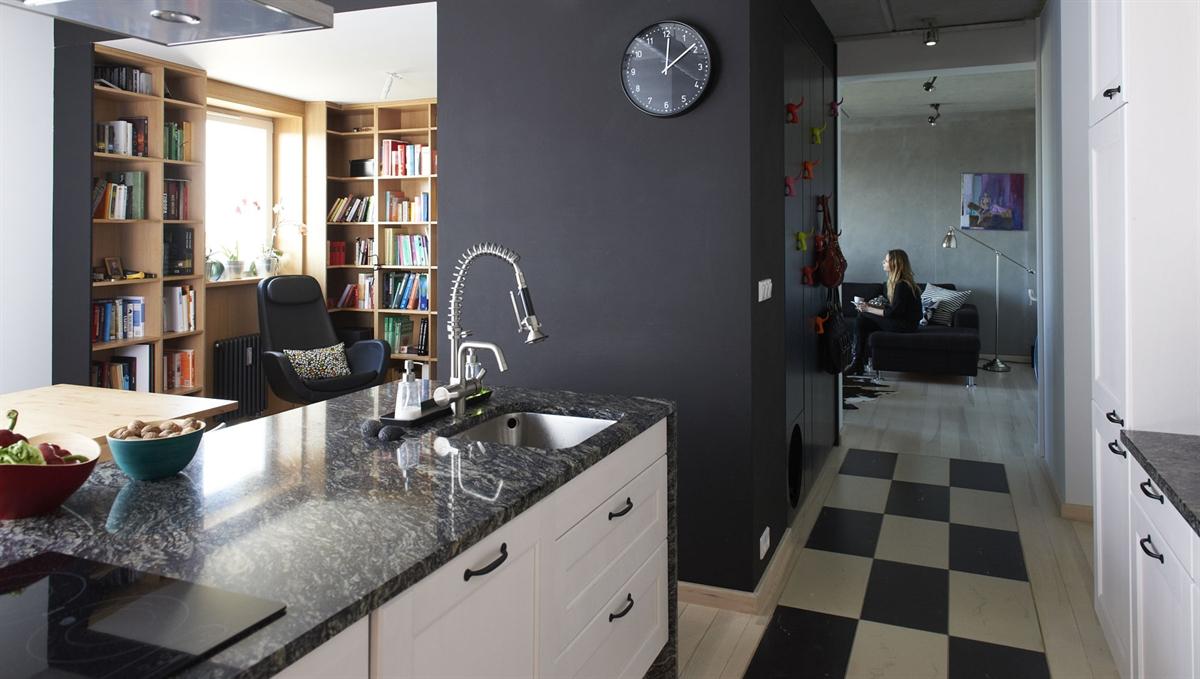 Dekorasi kediaman sempit ilham pengguna ikea di poland for Appartement de reve