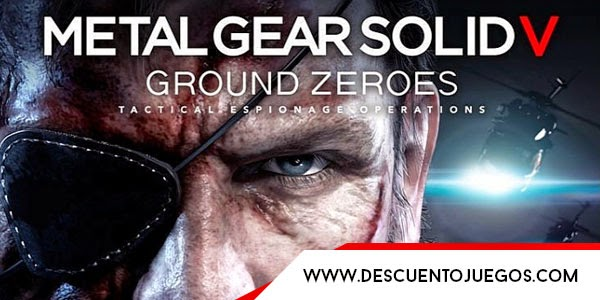 descuento metal gear v ground zeroes