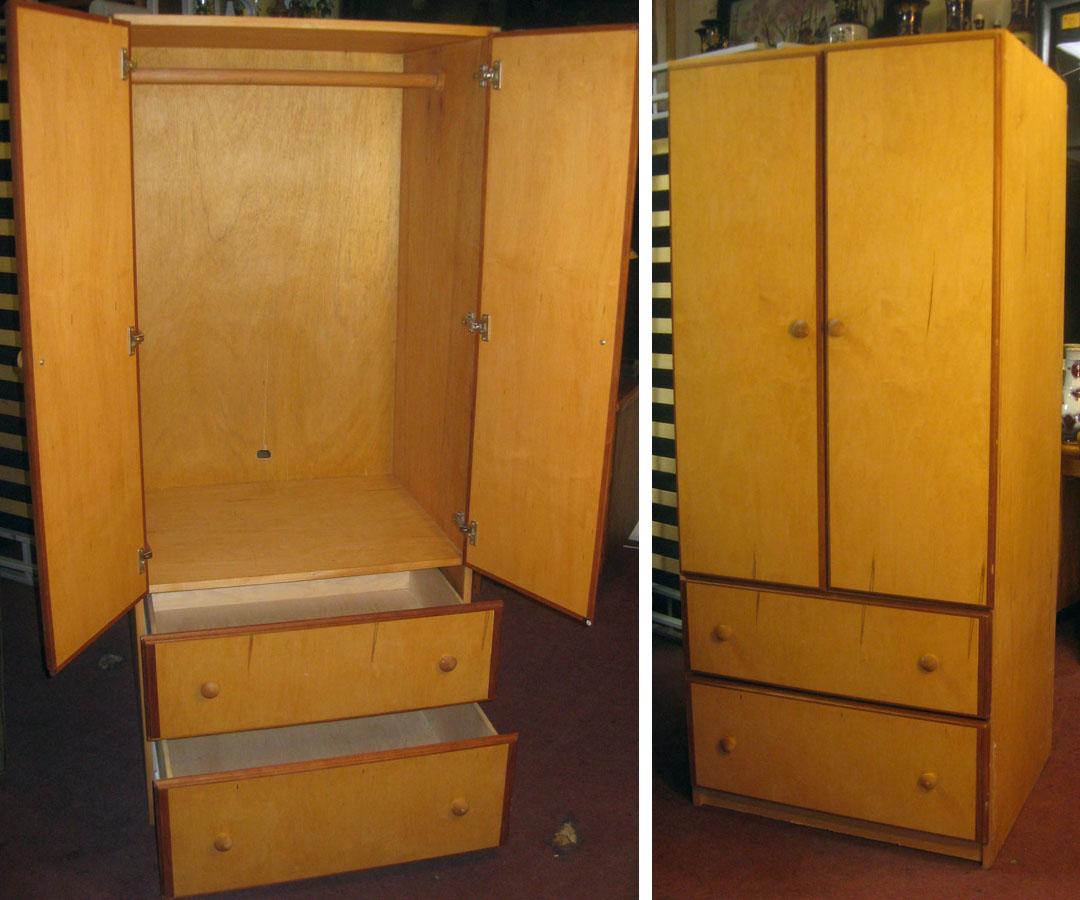Portable Wardrobe Closets Furniture : Uhuru furniture collectibles sold portable clothes