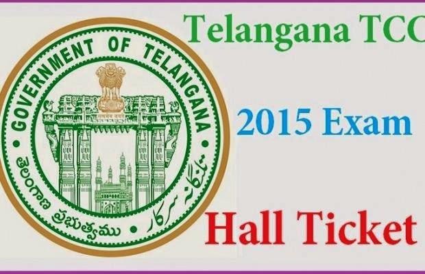 TS Telangana TCC ITI Exam Hall Ticket 2015