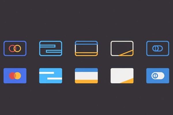 Free Flat Credit Card Icons