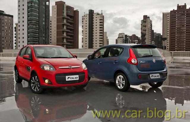 Novo Palio Attractive 1.4 2012 - vermelho