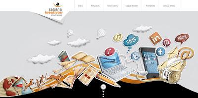 diseños web con dibujos