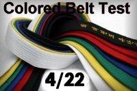 Colored Belt Test
