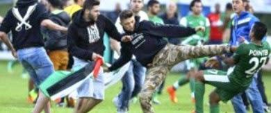 Pemain Bola Sepak Israel Diserang Penonton