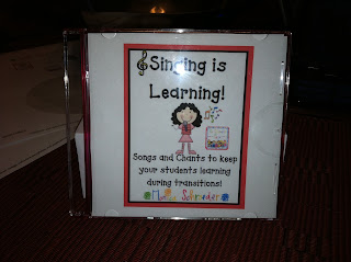 Singing is Learning CD Link photo