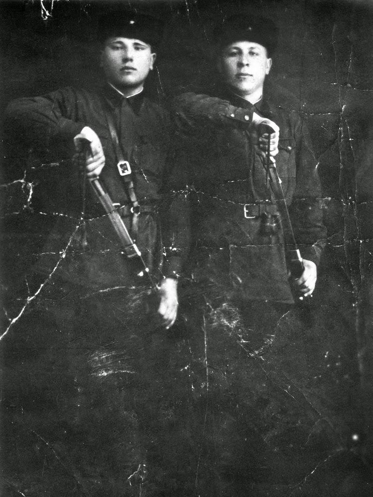 Сергей Петрович Губкин, на фото слева Фото из фондов НКМ
