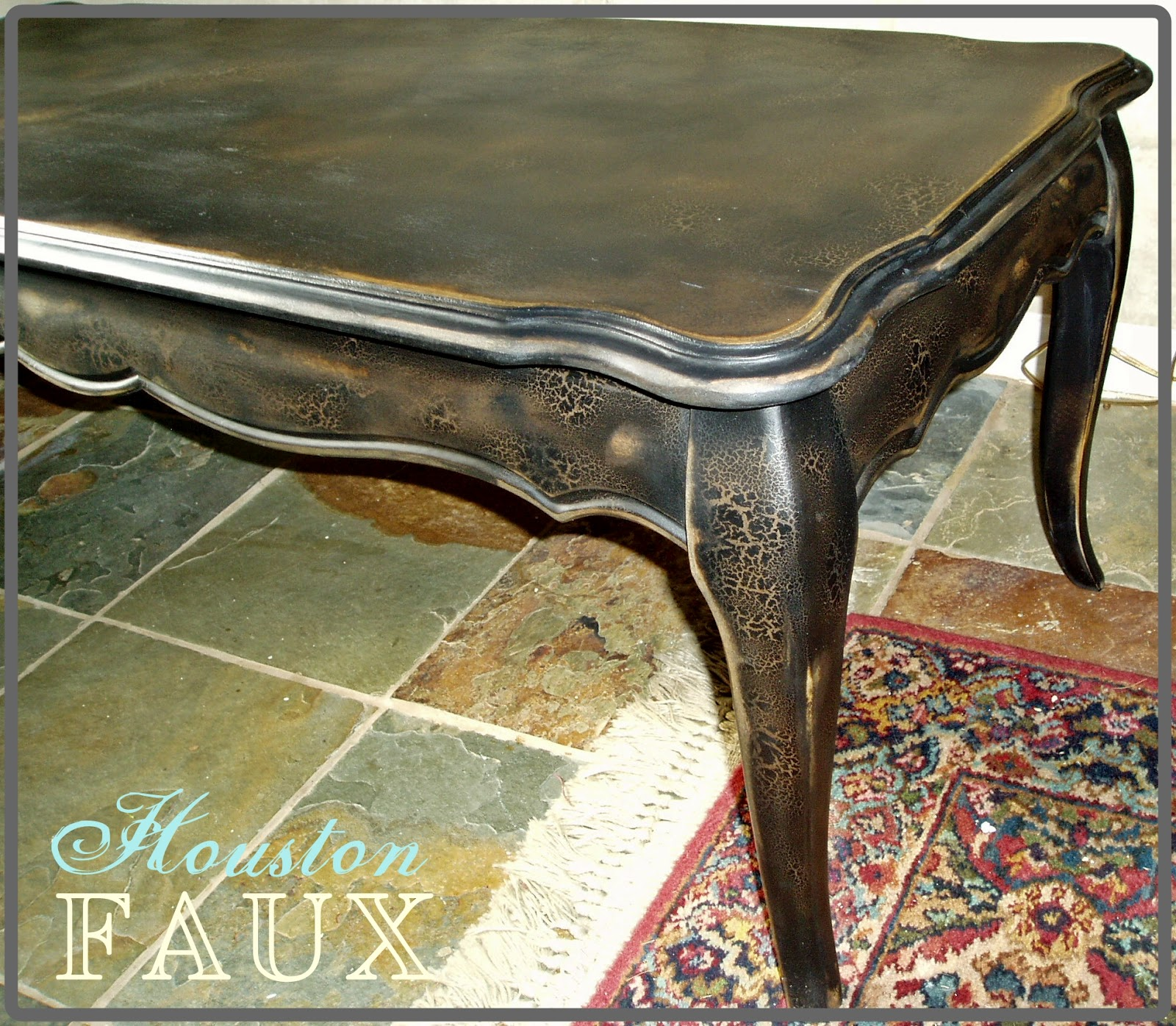 "Faux Painting Furniture The ""DARCY"" French Provincial Black"