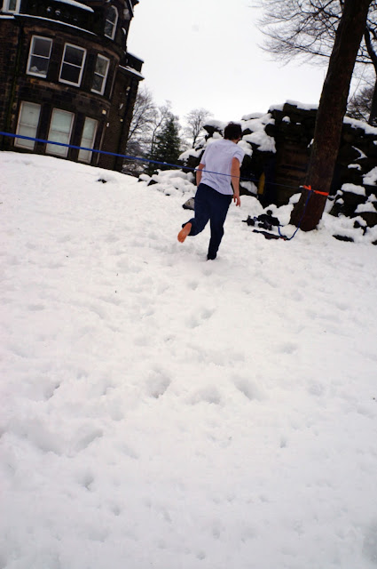 slackline, snow, slack, slacklife, snowline, cold feet, adventure, climb, outdoor, winter, sport