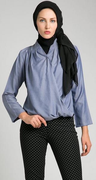 Contoh Model Baju Muslim Casual untuk Wanita Trendy 2015