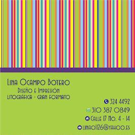 Lina Ocampo- Diseño