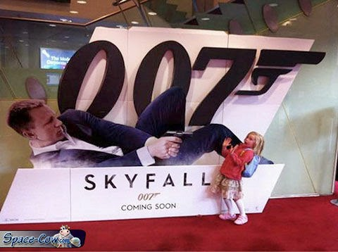 funny Skyfall movie humor