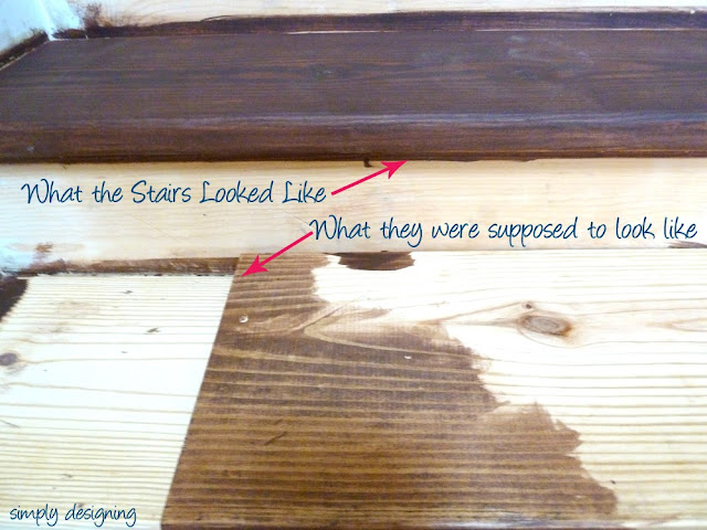 How to Stain Properly! | step by step tutorial for refinishing stairs complete with what NOT to do's! | Simply Designing | #diy #homeremodel #stairs #homeimprovement #tutorial