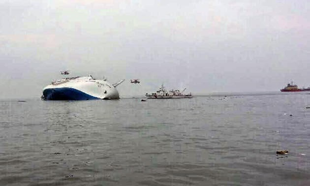 South Korea Ferry Sinking Titanic Ship Images
