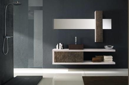 cuarto de bao vanidades son cruciales para organizar el desorden y el tipo moderno se ve limpio muebles modernos para el bao con espejos