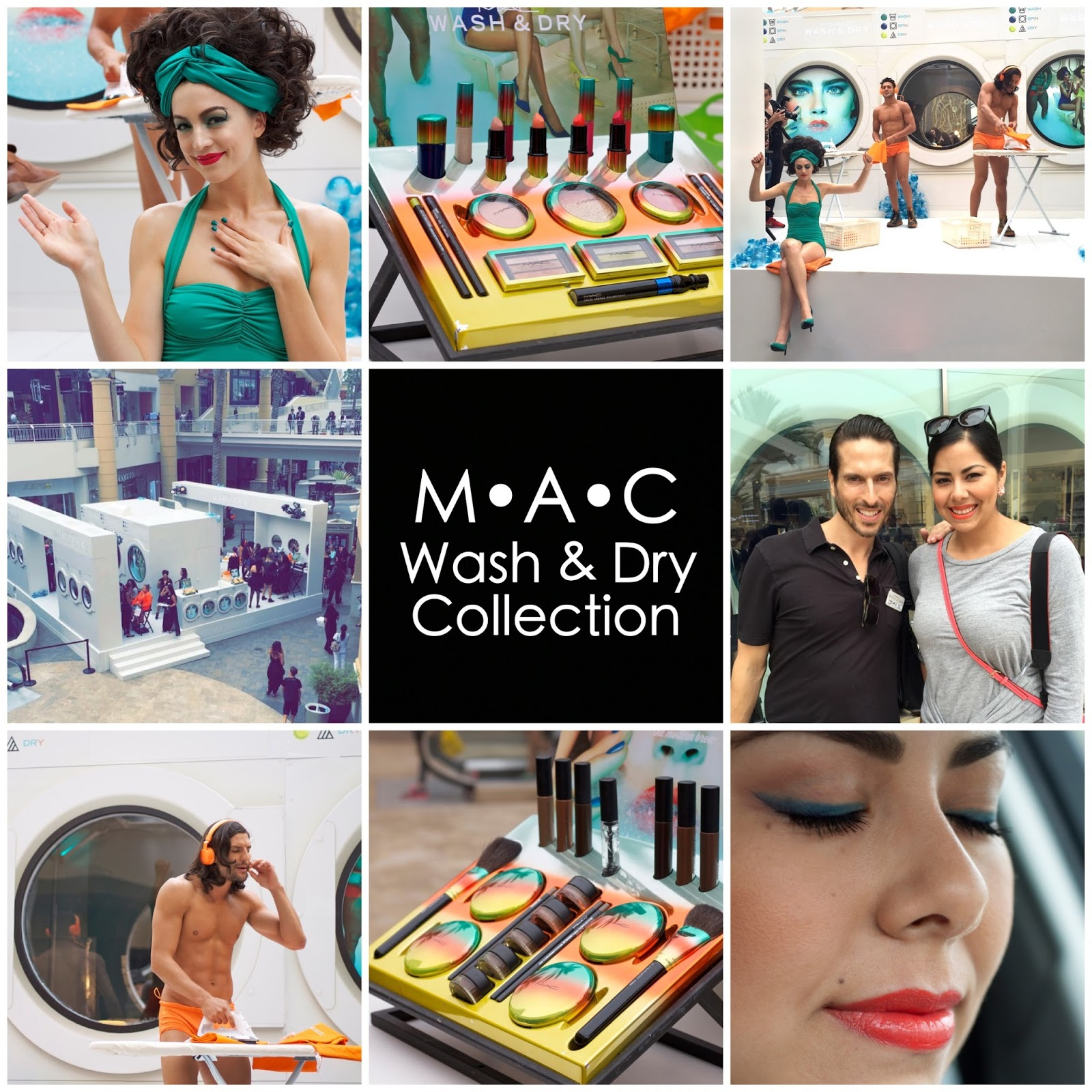 MAC Wash and Dry Collection, San Diego Summer Make up, San Diego Beauty Blogger, San Diego Fashion Blogger, San Diego Style Blogger