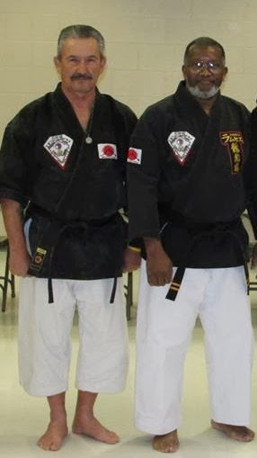 Myself and Jackson Sensei