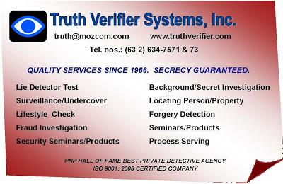Truth Verifier Systems Inc.