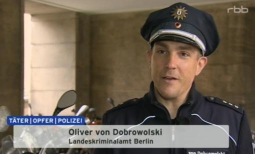 Oliver von Dobrowolski, Polizei Berlin