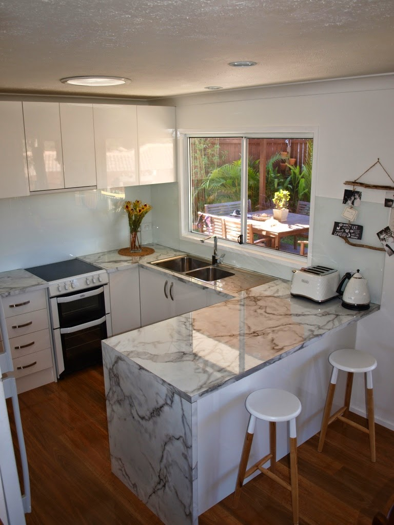 Our Kitchen Renovation After Photos Glamour Coastal