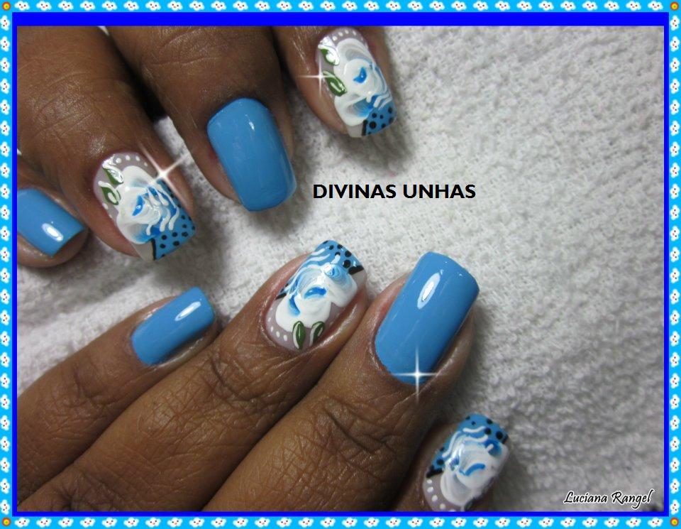 Flor Mexicana Em Carga Dupla By Luciana Rangel Divinas Unhas O 2015 ...