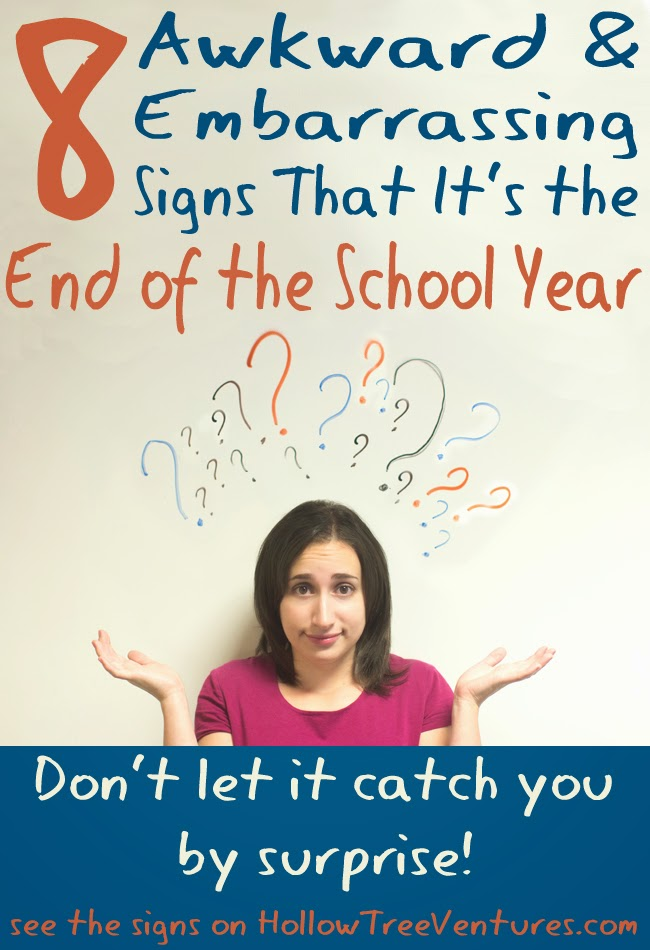 8 funny signs it's the end of the school year