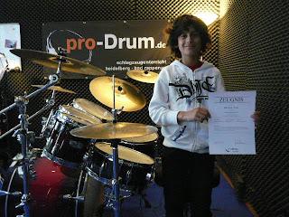Prüflinge bei pro-Drum