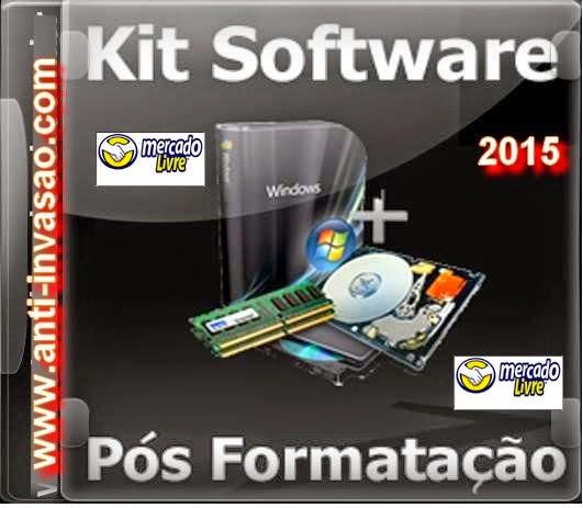 Kit pos formatação para seu computador