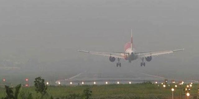 Jarak Pandang Hanya 600 M, Pesawat Tak Ada yang Landing di Jambi