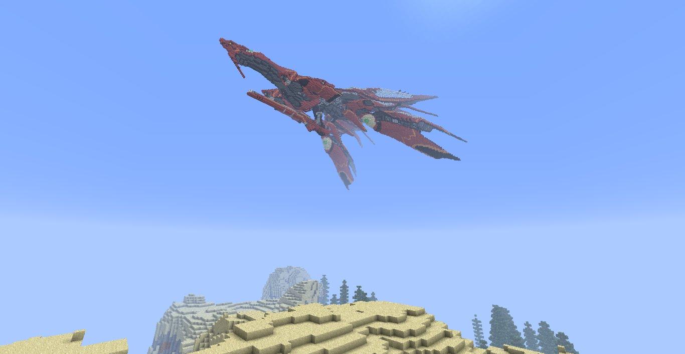 FF8のラグナロクをMinecraftで再現したのがすごい!