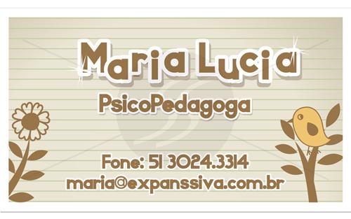 M236 cartoes de visita psicologos porto alegre - Cartões de Visita para Psicólogos