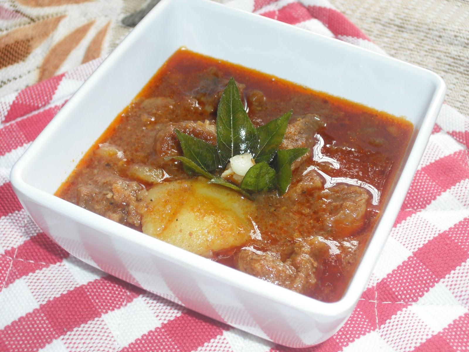 Beef potato roast