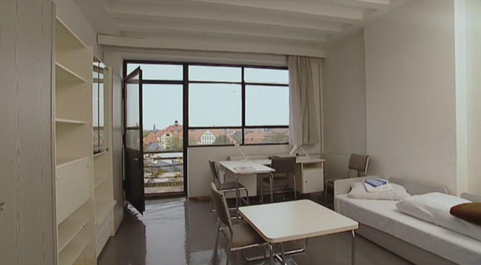 Historia de la arquitectura moderna residencias para for Residencia para estudiantes