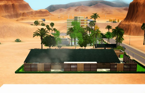 [LIVING DESIGN] WOODEN BOX HOUSE THE SIMS 3 side2