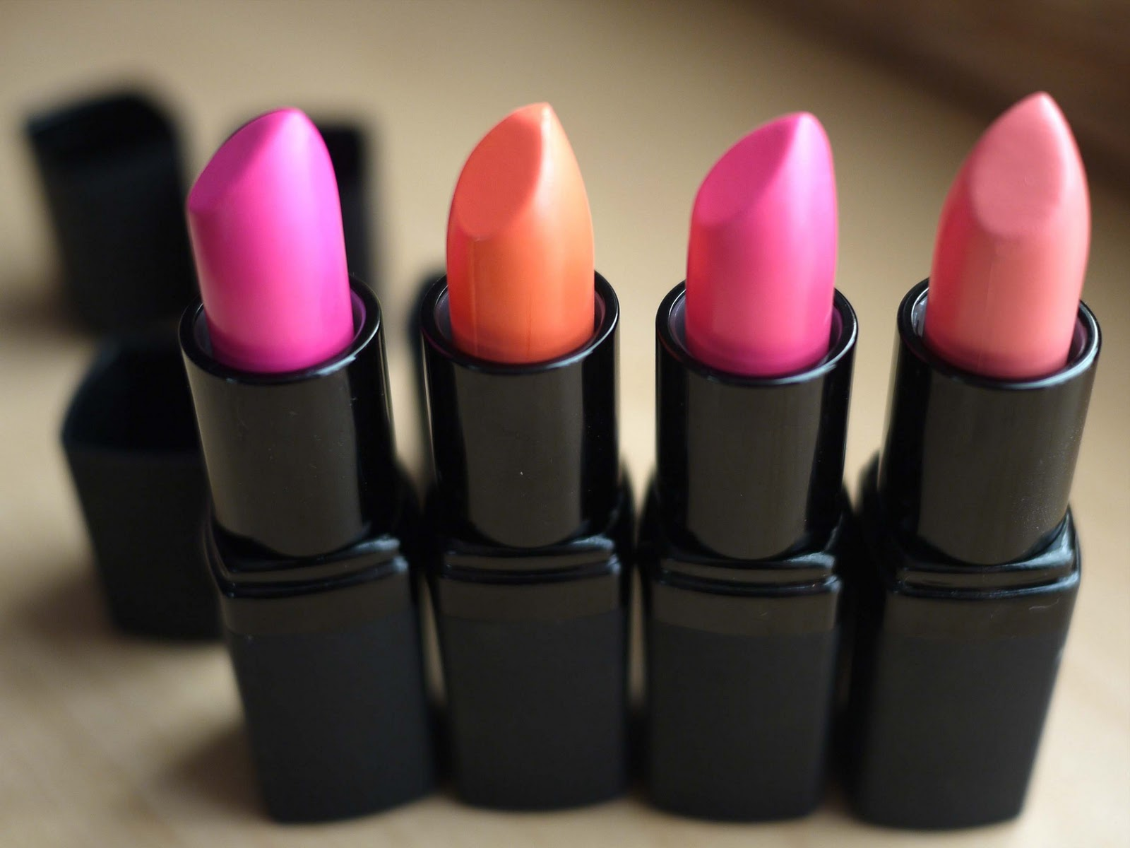 Barry M lipstick and pink lip gloss