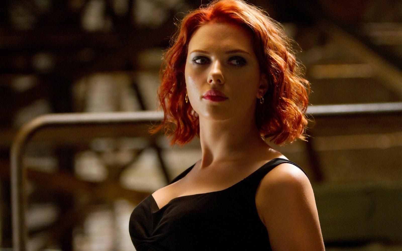 The avengers movie scarlett johansson actress wide Wallpaper