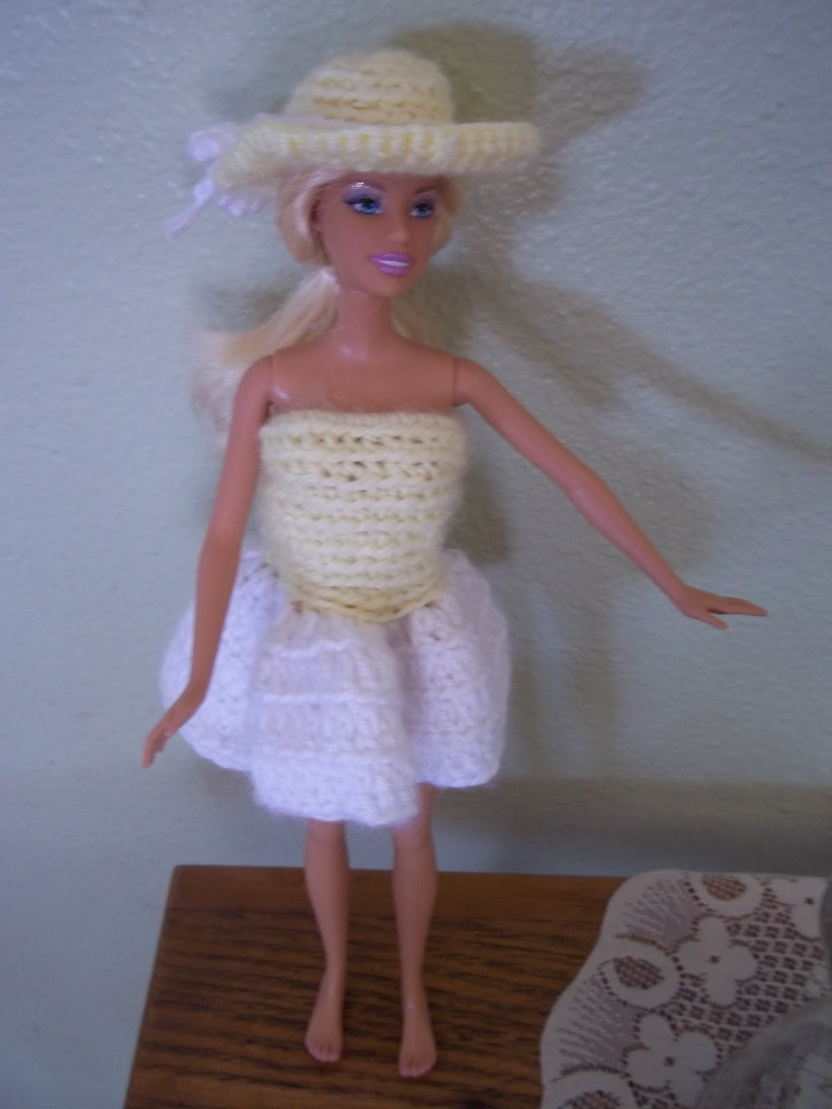Free Barbie Hat Pattern - My Turn for Us