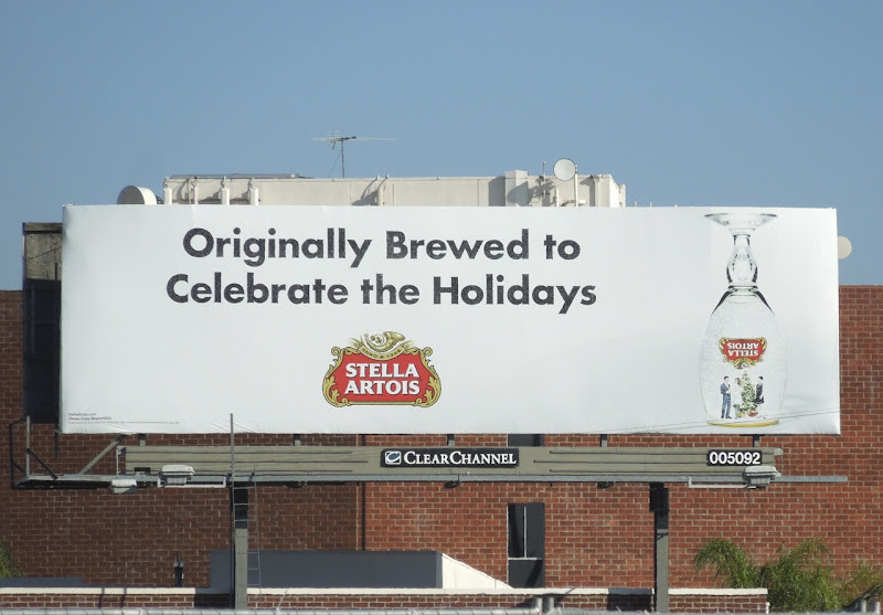 Stella Artois Holidays billboard