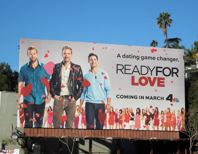 Ready For Love series premiere billboard