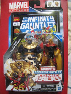 Marvel Universe Infinity Gauntlet Crusade Wars Adam Warlock Watch Thanos Avengers