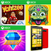 """Zuma's Revenge"", ""Yahtzee"" and ""Bejeweled Live +"" - 3 Exclusive Games for Nokia Lumia Windows Phone"