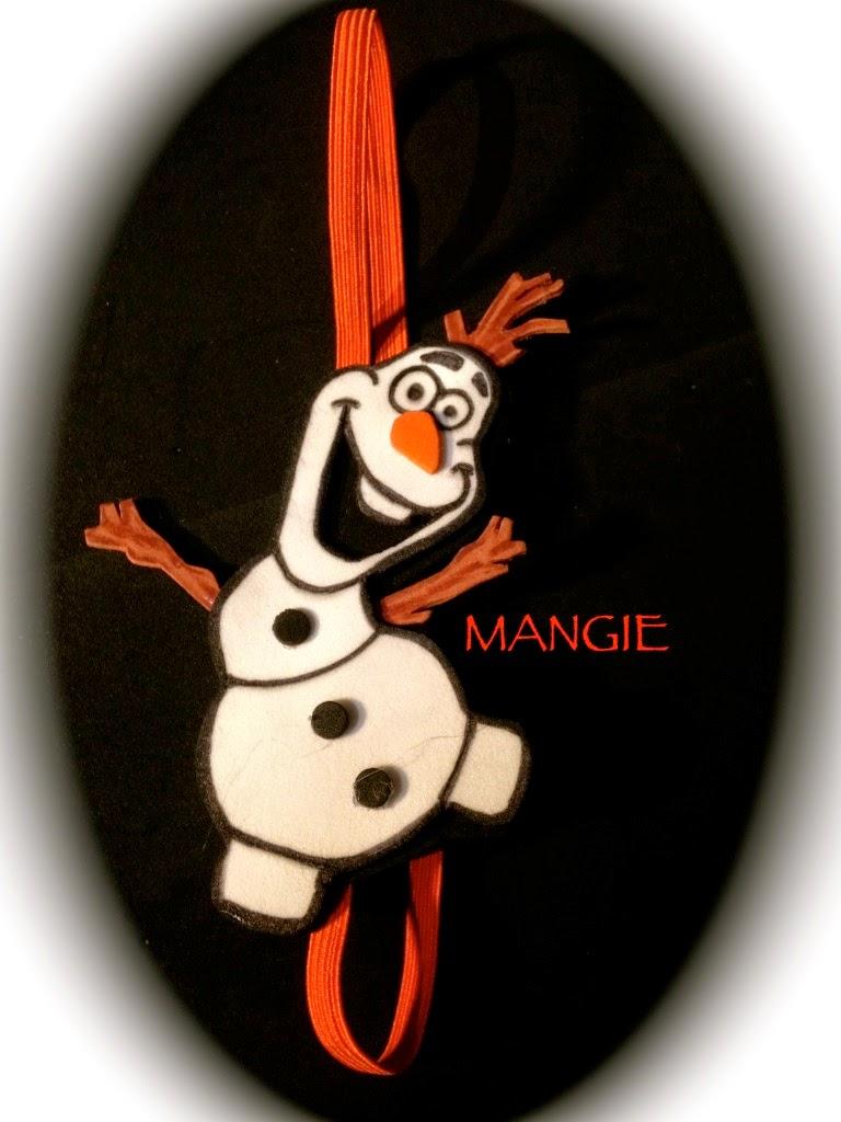 Marcapáginas elástico de Olaf