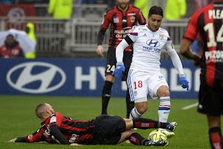 Lyon - Nice : Lyon perd la tête (1-2)