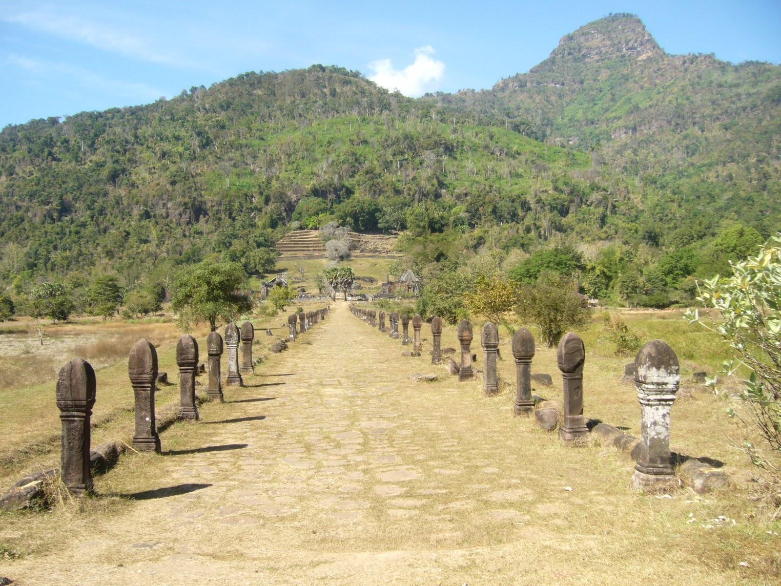 Champasak Laos  city pictures gallery : Southeast Asia Studies: Prasat Phnom Vat Phu, Champasak, Laos